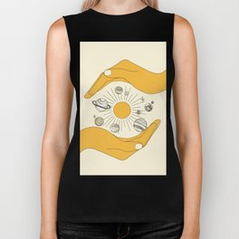 The Universe in Your Hands Biker Tank