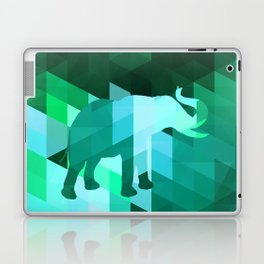 Emerald Elephant Laptop & iPad Skin
