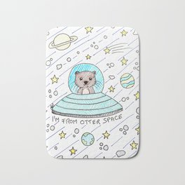I'm from otter space Bath Mat