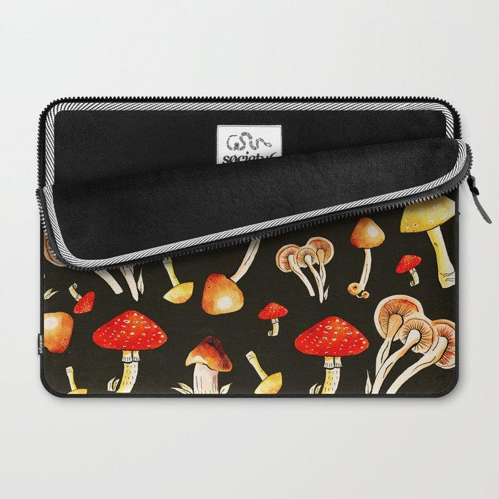 Brigt Mushrooms Laptop Sleeve