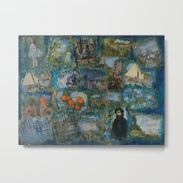 The Impressionists No. 1 COL140215a Metal Print