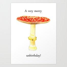 A very merry unbirthday! Art Print