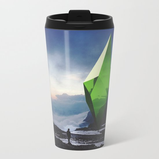 Inconsequential Logic Metal Travel Mug