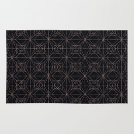 Autumn Tiles (Night ver.) Rug