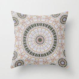 Mandala Eternal Youth Throw Pillow