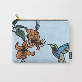 Hummingbird Garden Paper-cut  Carry-All Pouch