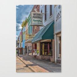 Quaint Streetscape Canvas Print