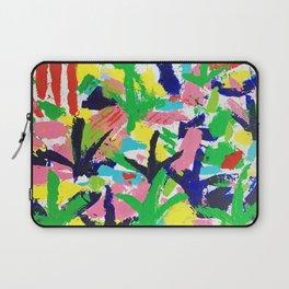 Bird Tracks, Abstract Art Laptop Sleeve