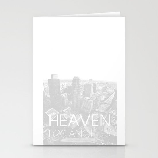 Heaven Los Angeles Stationery Cards