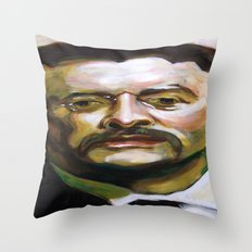 President Theodore Roosevelt Throw Pillow