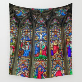 The Light Of Faith Wall Tapestry