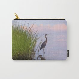 Blue Heron In Assateague Carry-All Pouch