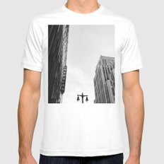 Downtown Los Angeles III Mens Fitted Tee White MEDIUM