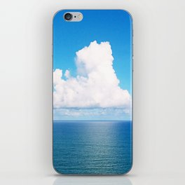 White Cloud Horizon - Tropical Horizons Series iPhone Skin