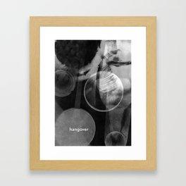 schraegerfuerst, hangover Framed Art Print