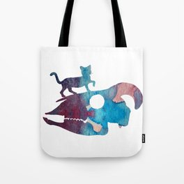 Cat Art Tote Bag