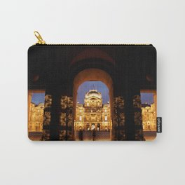 Summer Night At The Louvre Carry-All Pouch