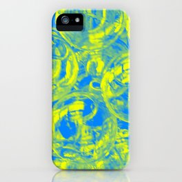 Abstract glass balls iPhone Case