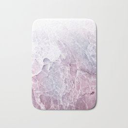 Sea Dream Marble - Rose and white Bath Mat