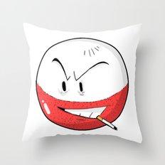#101 Electrode  Throw Pillow
