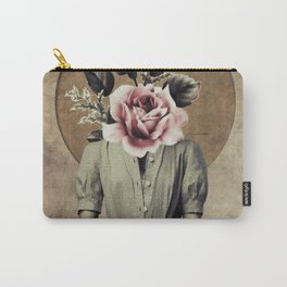 Flower lady Carry-All Pouch