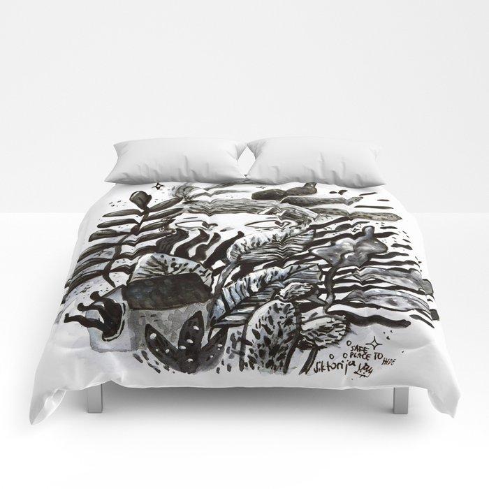 Hidden Place Comforters