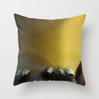 sweden Throw Pillows featuring Simply Sweden by Melia Metikos