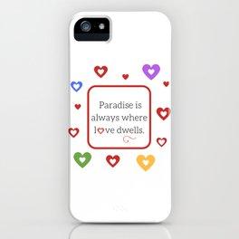 Red Saint Valentine's Day iPhone Case