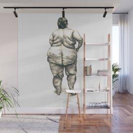 mujer en la ducha Wall Mural