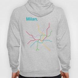 Milan Transit Map Hoody