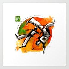 Capoeira 752 Art Print