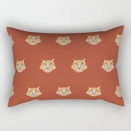 Go Get 'Em Tiger  Rectangular Pillow