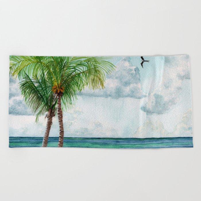 Peaceful Mexico Beach Towel By