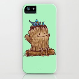 Good Day Log's Bird Nest iPhone Case