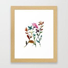 Garden Play 2 Framed Art Print