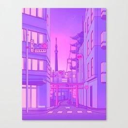 Asakusa Lights Canvas Print