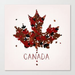 Maple Leaf Canvas Print