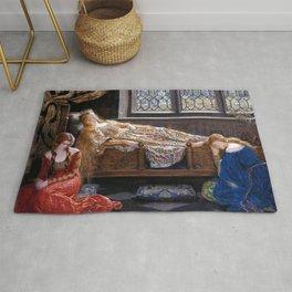 John Collier The Sleeping Beauty Rug