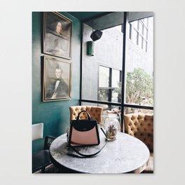 Handbags and History Canvas Print