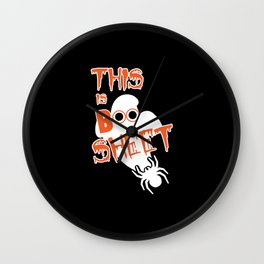 This Is Boo Sheet Wall Clock