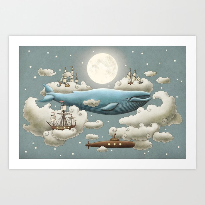 Ocean Meets Sky Kunstdrucke