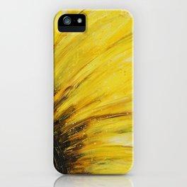 Big Yellow Daisy iPhone Case