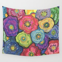 Posies Wall Tapestry