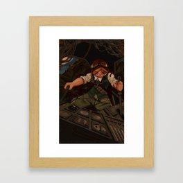 Wartech Pilot Framed Art Print