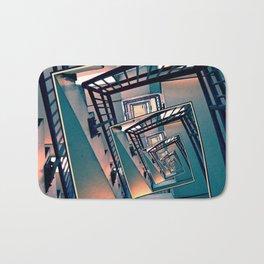 Infinite Spinning Stairs Bath Mat