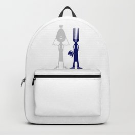 Ms Spoon & Mr Fork are getting married V6S2 Backpack