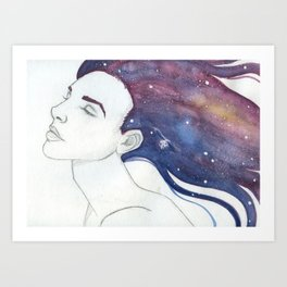 Follicular Galaxy Art Print