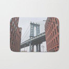 Dumbo Brooklyn New York City Bath Mat