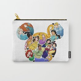 Princess Mickey Ears Carry-All Pouch