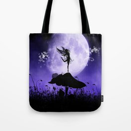 Fairy Silhouette 2 Tote Bag